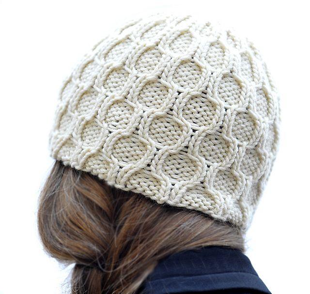 Trellis Hat pattern by Karen Clements | Gorros, Gorro tejido y Damas
