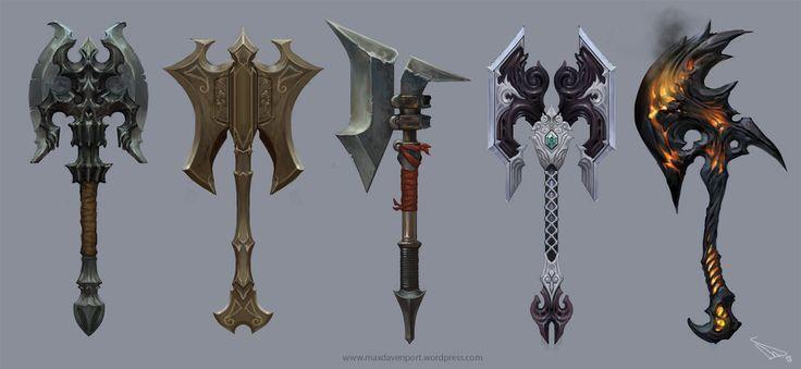 skyrim weapon concept - Google Search
