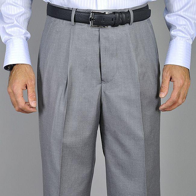 Men's Light Single Pleat Pants