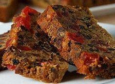 dark fruit cake prizewinner recipe
