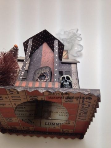 Hello,     I have been having fun with Halloween home decor pieces this year. I got my hands on the new Tim Holtz Village Dwelling dies and ...
