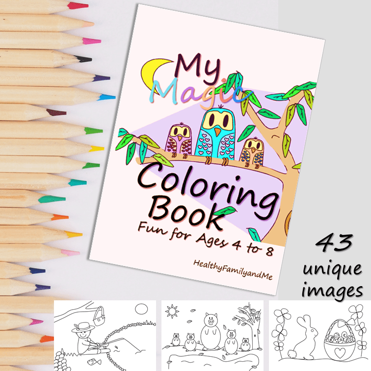 Amazing Coloring Book For Kids To Try Right Now Healthy Family And Me Kids Coloring Books Positive Parenting Solutions Kids And Parenting