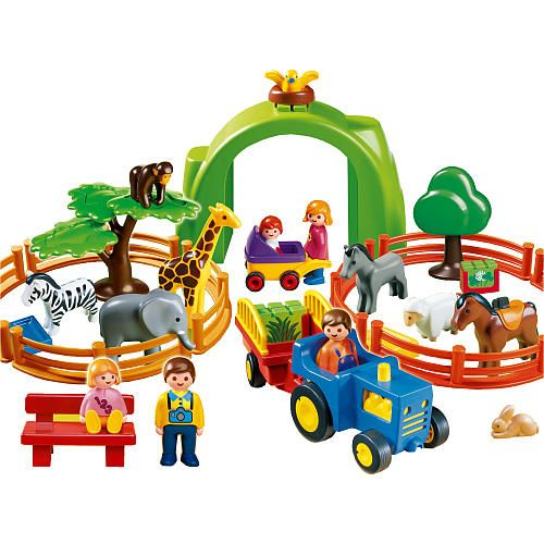 Playmobil 123 Playset Large Zoo Spielzeug Playmobil