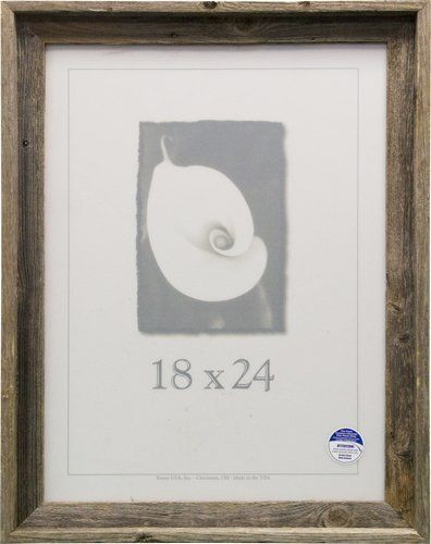 Frame USA 17073 Barnwood Picture Frames 18 x 24 *** Want additional ...