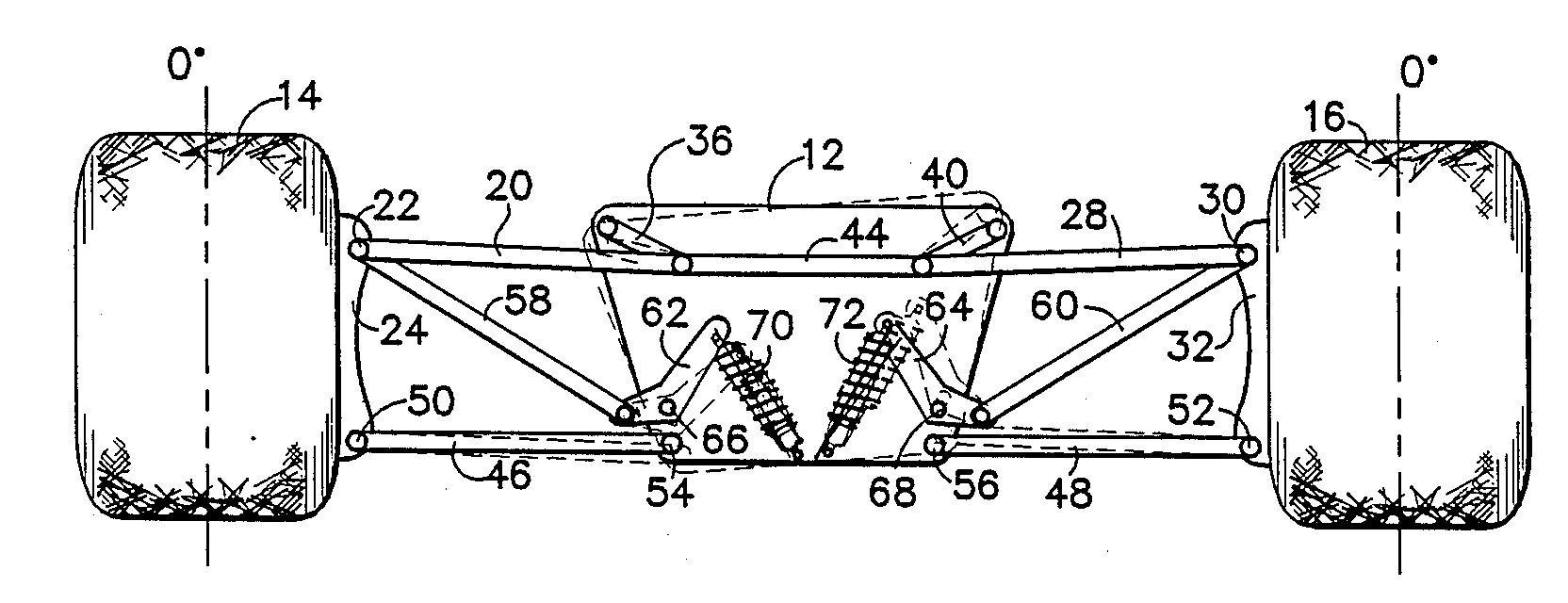 Analytics for US Patent No. 4,854,603, Constant camber suspension system