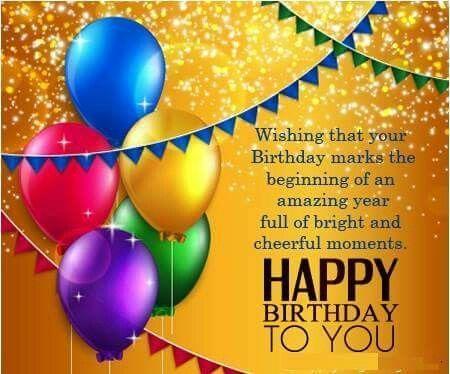 Birthday Wishes 2018