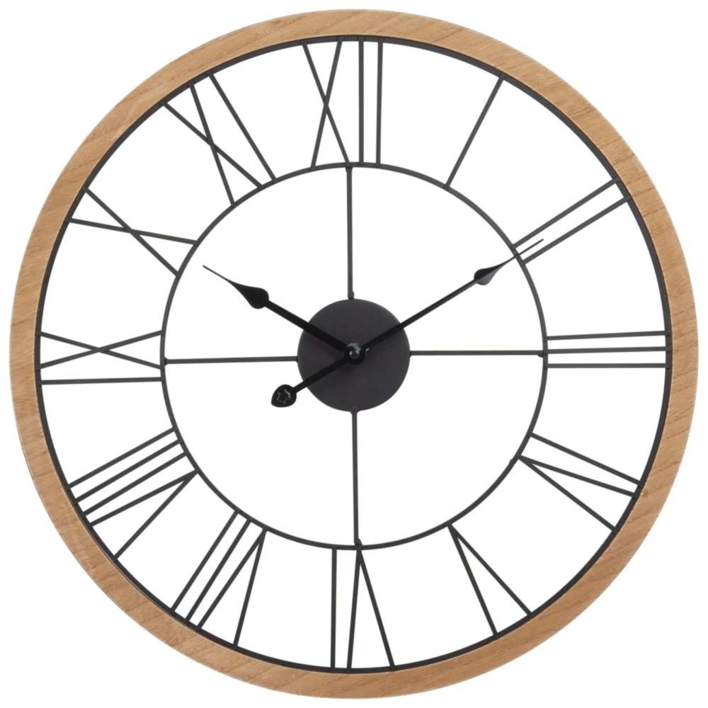 Epingle Par Et Dans Mes Mots Blog Lifest Sur Amenagement Maison Horloge Metal Horloge Murale Mobilier De Salon