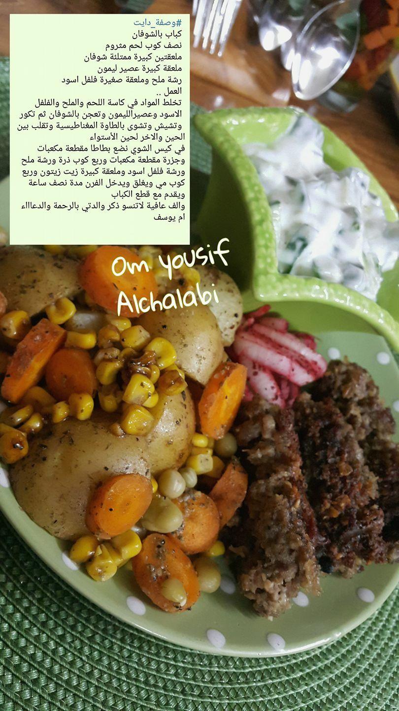 كباب بالشوفان Health Food Healthy Recipes Food Receipes