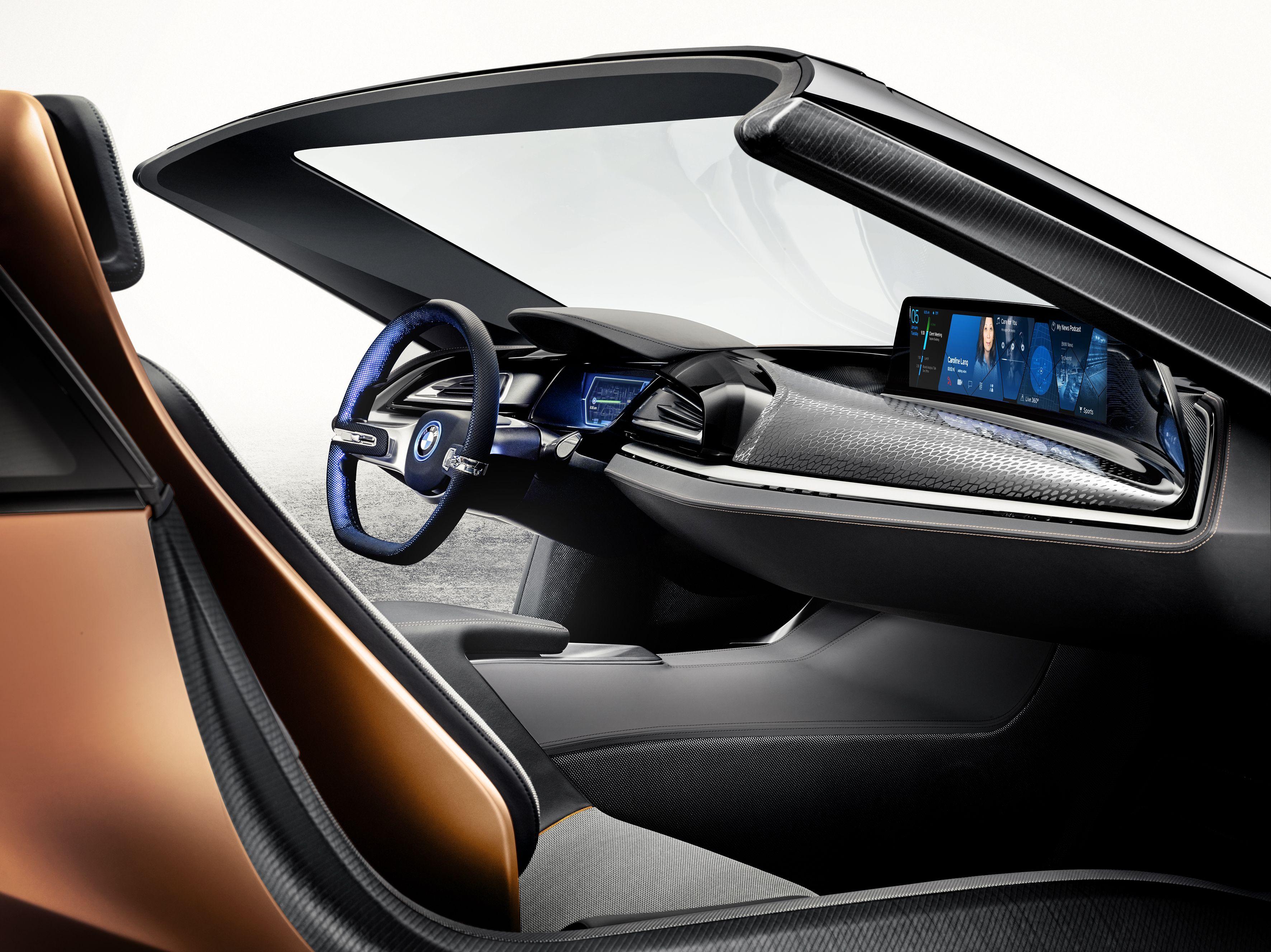 BMW i Vision Future Interaction Concept Dream Garage
