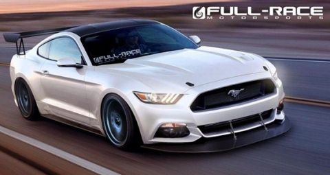 2015 Ford Mustang Full Race Motorsports