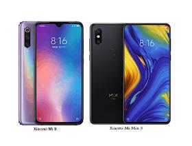 Tspn1 Xiaomi Mi 9 Vs Xiaomi Mi Mix 3 Specs Comparisons Xiaomi Pixel Laser Pixel Density
