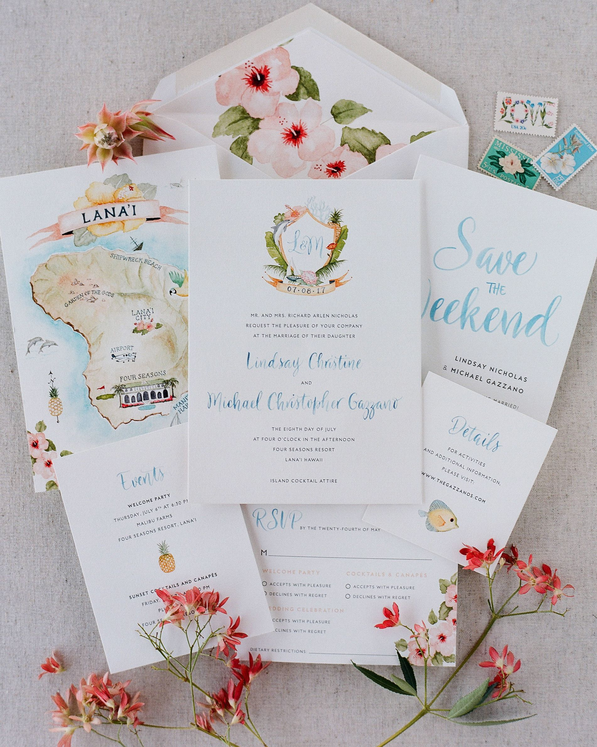 A Tropical Vacay That Ends With A Really Gorgeous Wedding