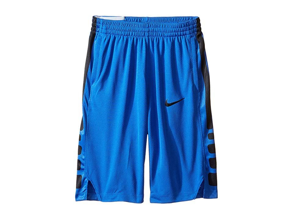 Nike Kids Dry Elite Basketball Short Little KidsBig Kids Game RoyalGame RoyalBlackBlack Boys Shorts Becoming the best of the best takes hard work Start his training in a...
