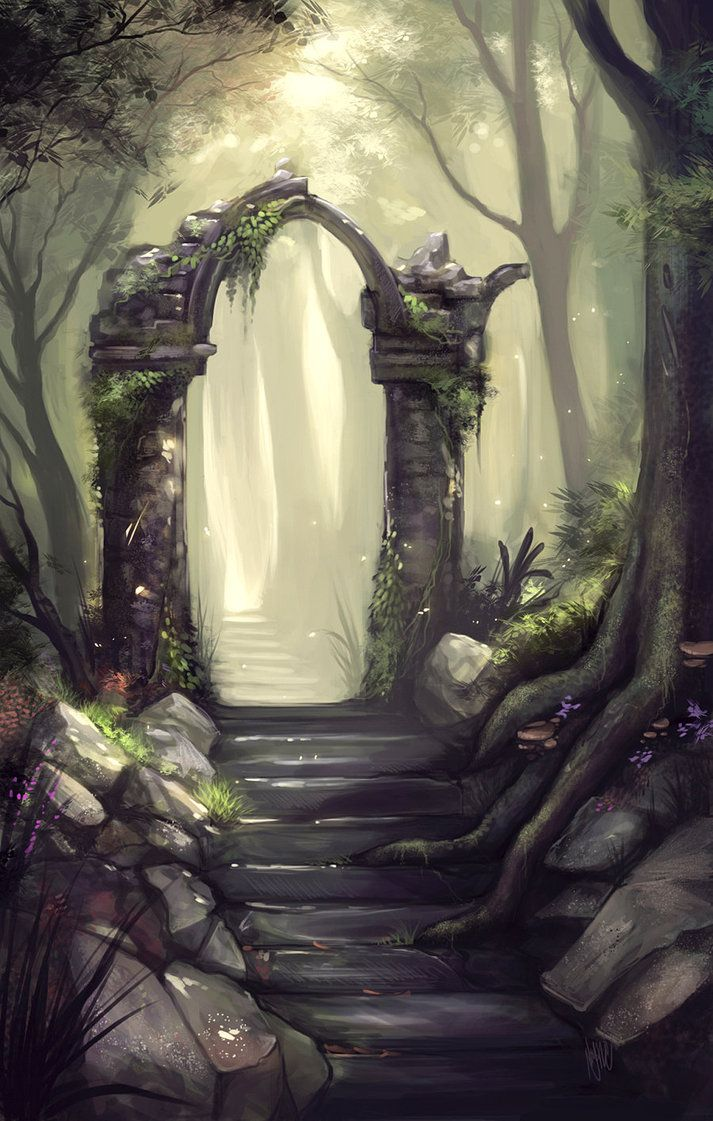 Old Ruins by =Ninjatic on deviantART