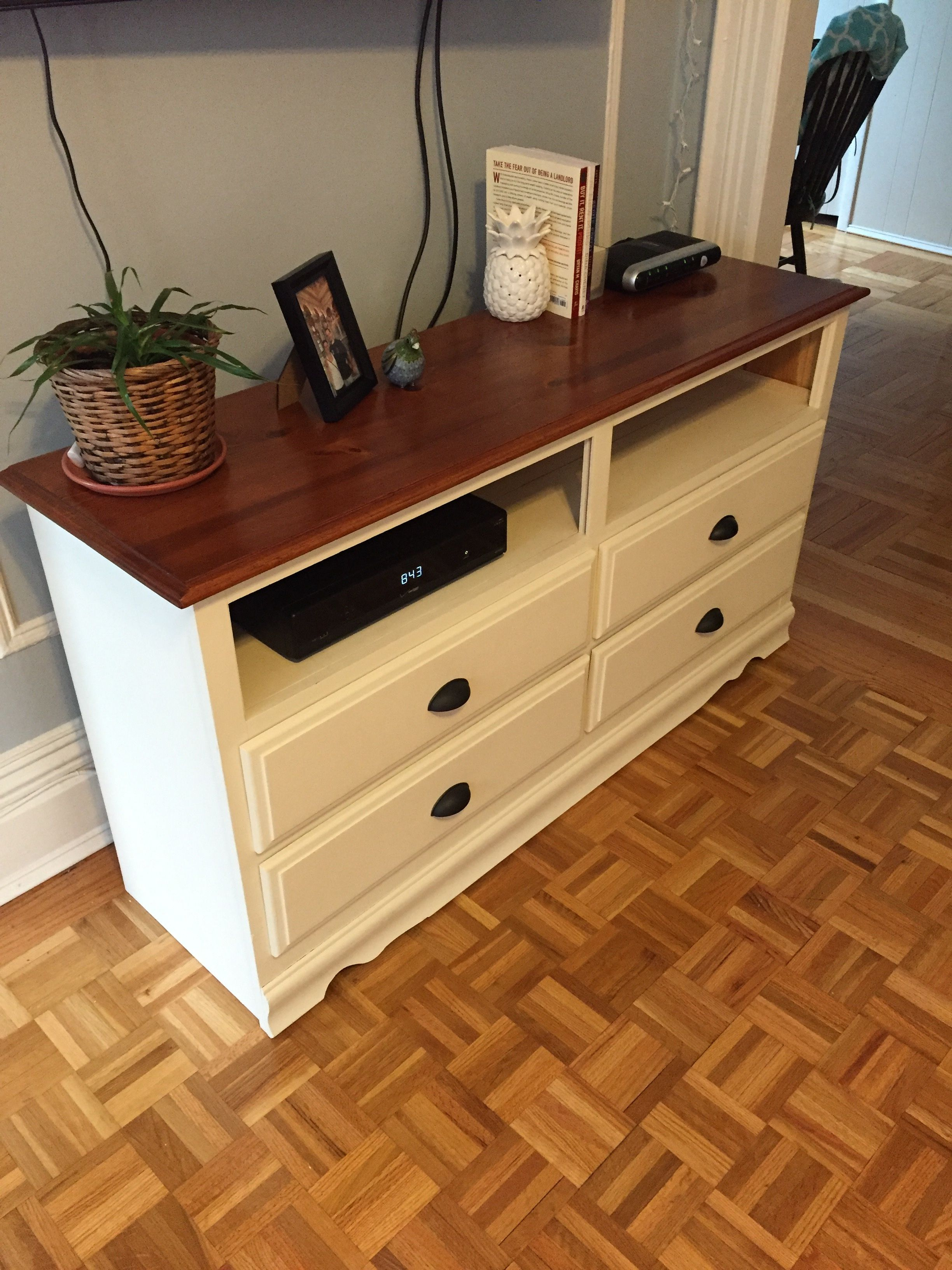 stand a to how pin into tv furniture dresser repurpose turn