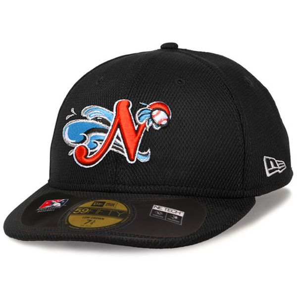 Norfolk Tides New Era Low Crown Diamond Era 59FIFTY Fitted Hat - Black - $34.99