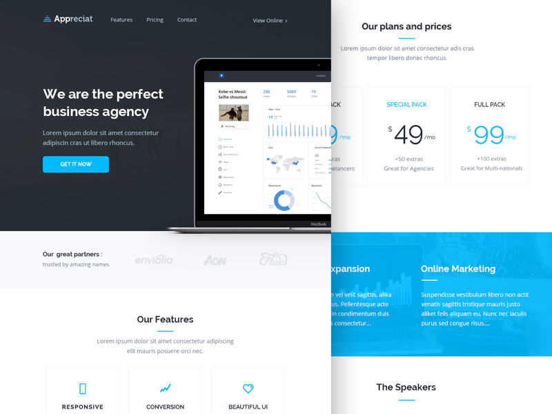 Appreciat Email Newsletter Html Template