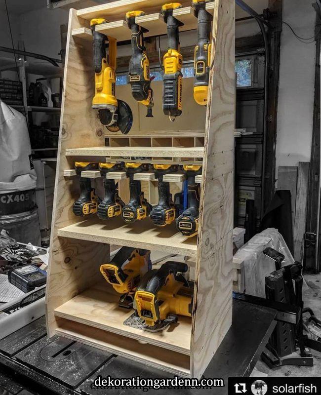 Garage Tool Storage
