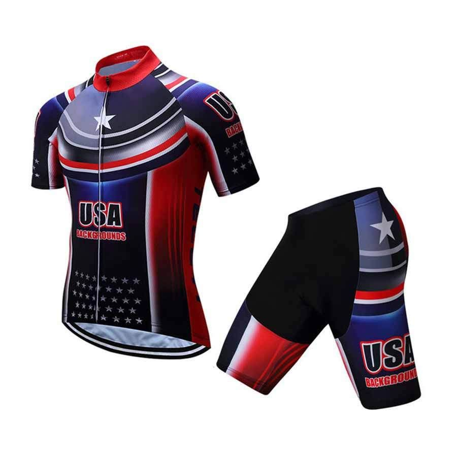 70a67d098 This unique Men s Cycling Jersey USA design with premium quality materials.  Product Details  Material  High-quality Polyester