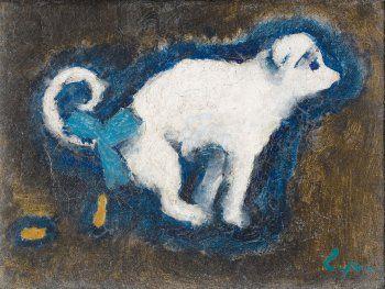Kees van Dongen, Le Petit Black, c.1910/ 1912, Oil on canvas, 16,3 x 22 cm, Private collection