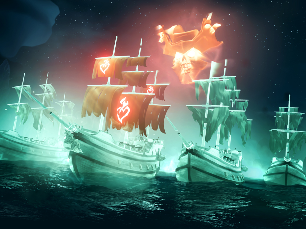 Ghost ships and more come to Sea of Thieves video game in