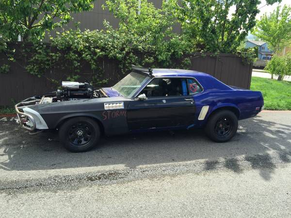 Mad Max Styled Mustang On Craigslist For 30k Not Sure What The