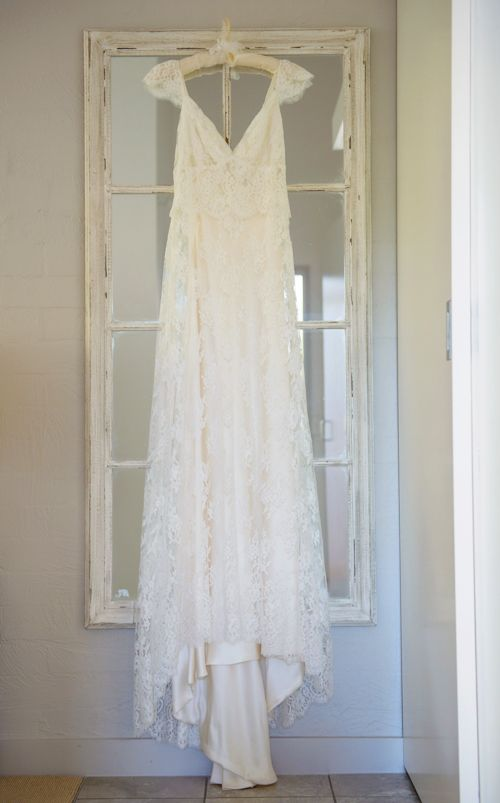 Hang The First Dress Over Mirror For Viewing Or Put It On A Mannequin