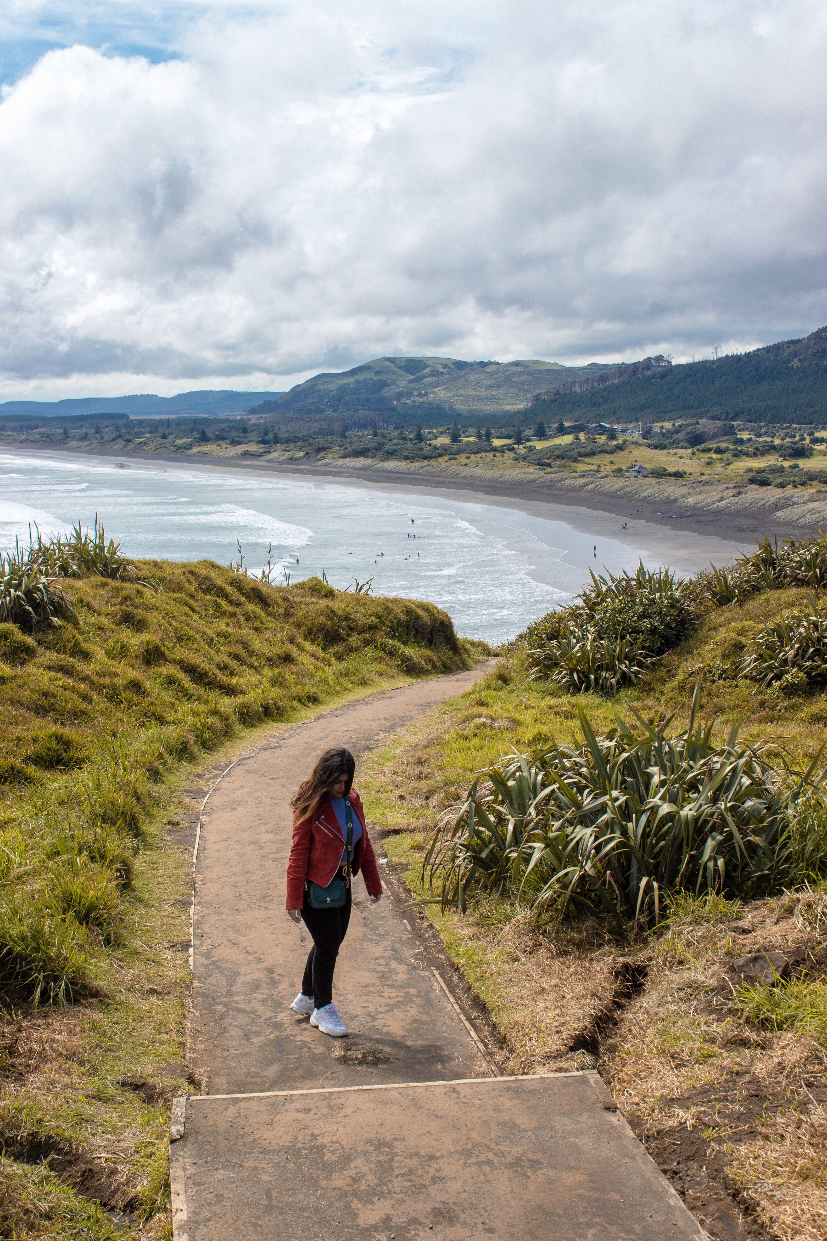 Muriwai Beach New Zealand Muriwai Beach Beach Travel Inspiration