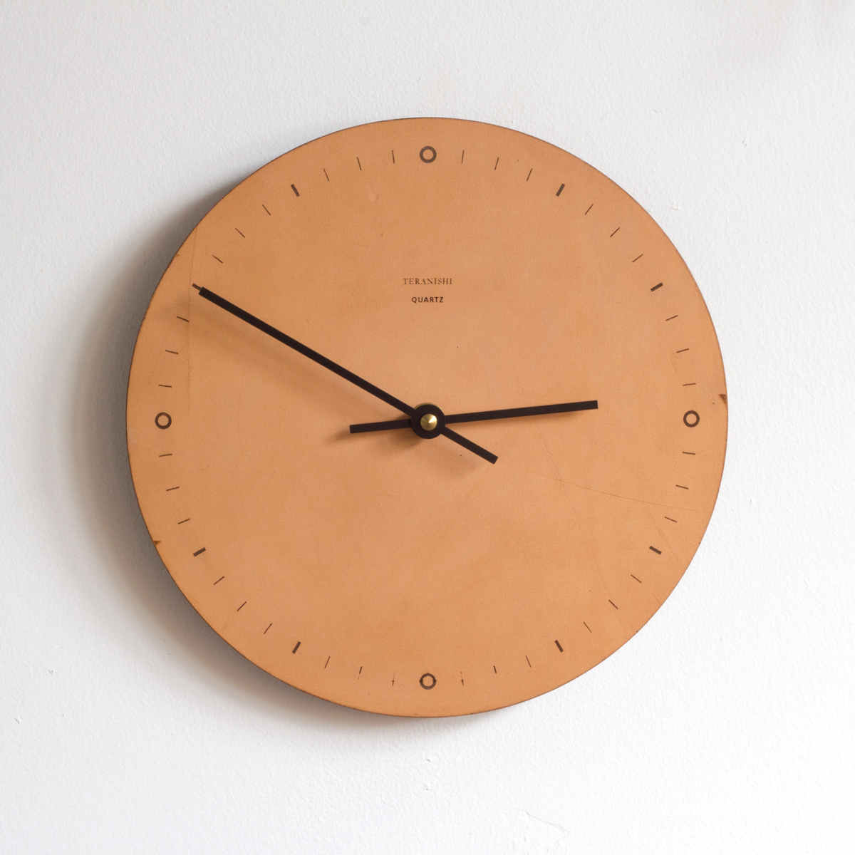 N001 leather wall clock products pinterest leather wall n001 leather wall clock amipublicfo Gallery