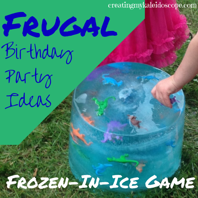 Frugal Birthday Party Ideas: The Frozen-In-Ice Game ...
