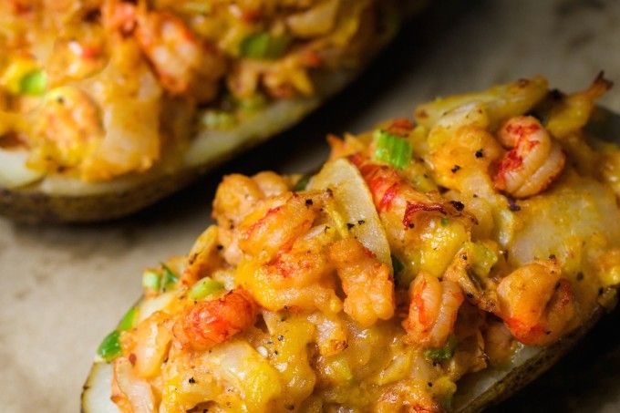 Crawfish Stuffed Potatoes. Check out this blog!