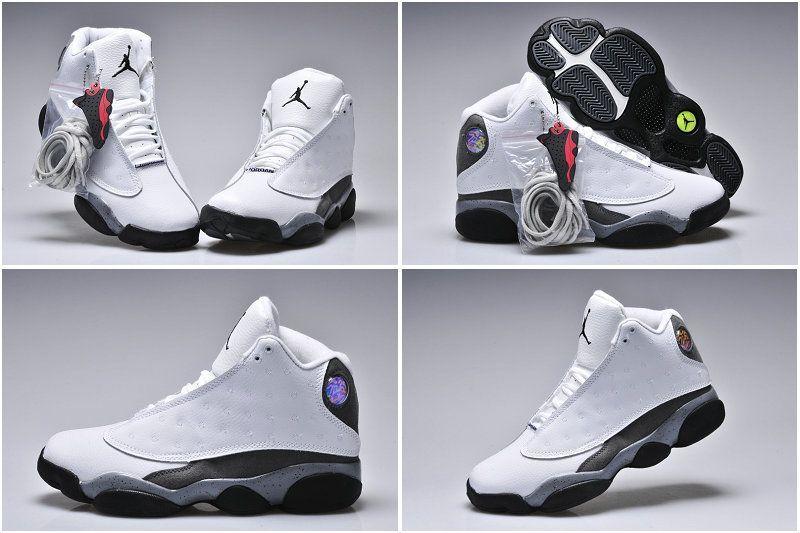 Air Jordan 13 Oreo Custom  f77445f230a4