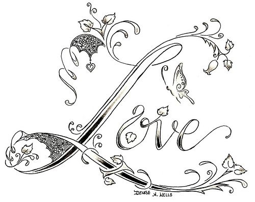 believe tattoo design by denise a  wells