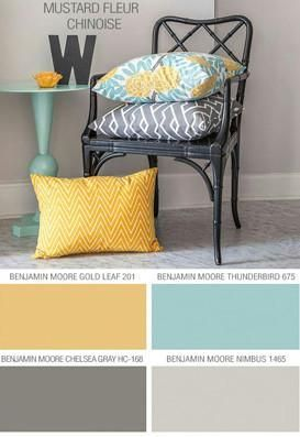 Floral Bedding in Comforter or Duvet Best Selling Yellow, Gray and Aqua Dahlia Flower Design #livingroompaintcolorideas