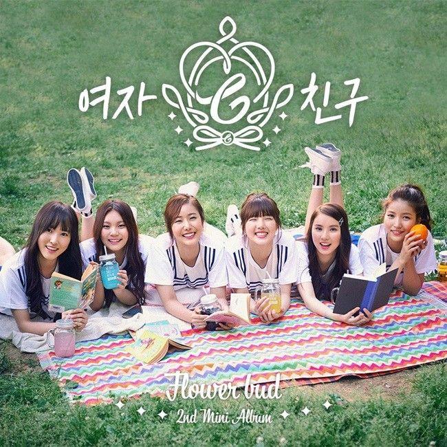 GFRIEND 2nd Mini Album 「Flower Bud」 Capas de álbuns