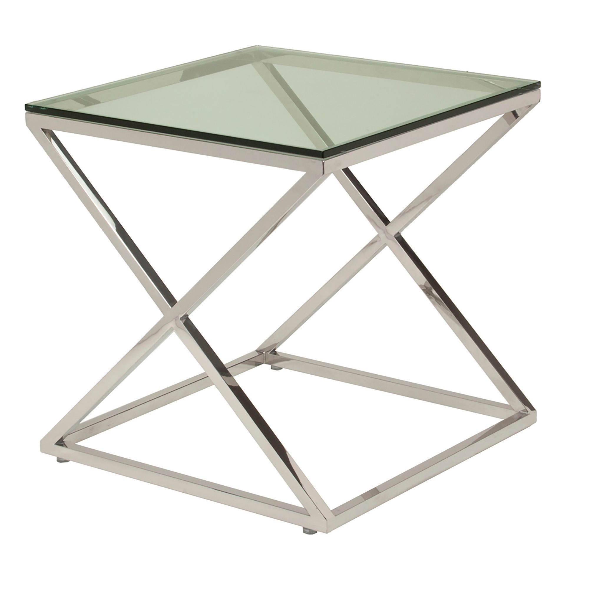 Best Of Metal Accent Table with Glass top