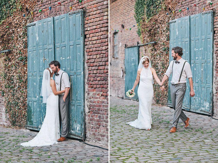 Kim & Benni Traumhafte Vintage Hochzeit in Köln