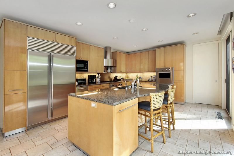 Best Of Natural Wood Kitchen Cabinets