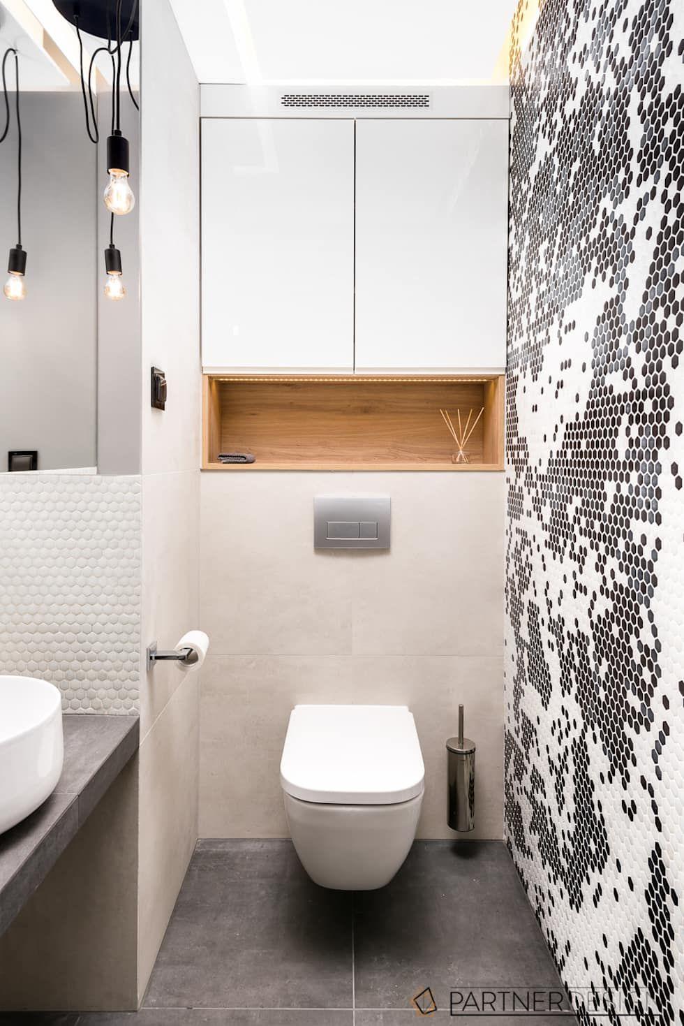 Apartamnet Dabie Moderne Badezimmer Von Q2design Modern Homify Kleine Toilette Design Badezimmer Modernes Badezimmer