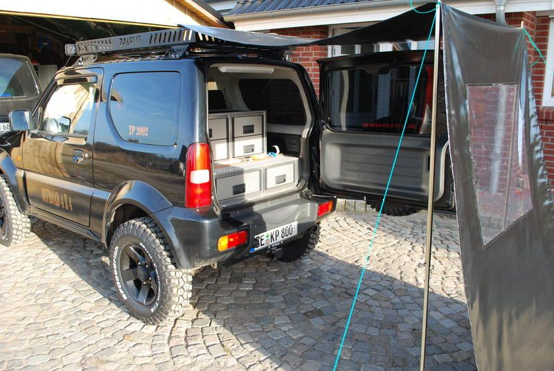 jimny camper suzuki jimny suzuki jimny camper und. Black Bedroom Furniture Sets. Home Design Ideas