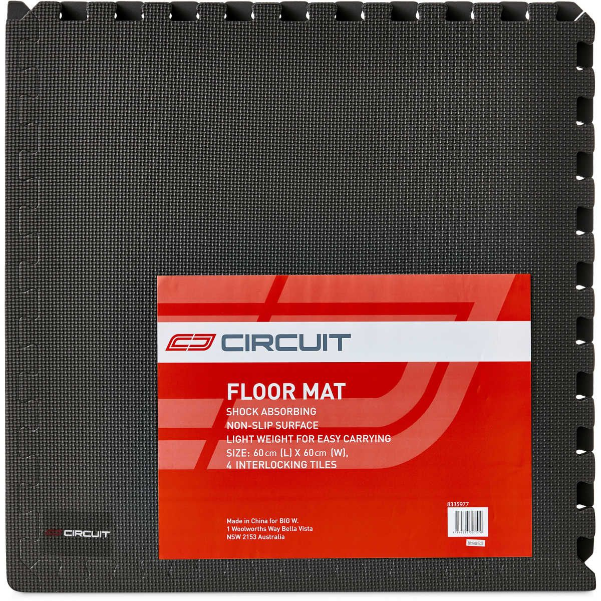 Big W Floor Mat Circuit Interlocking Floor Mat Fitness