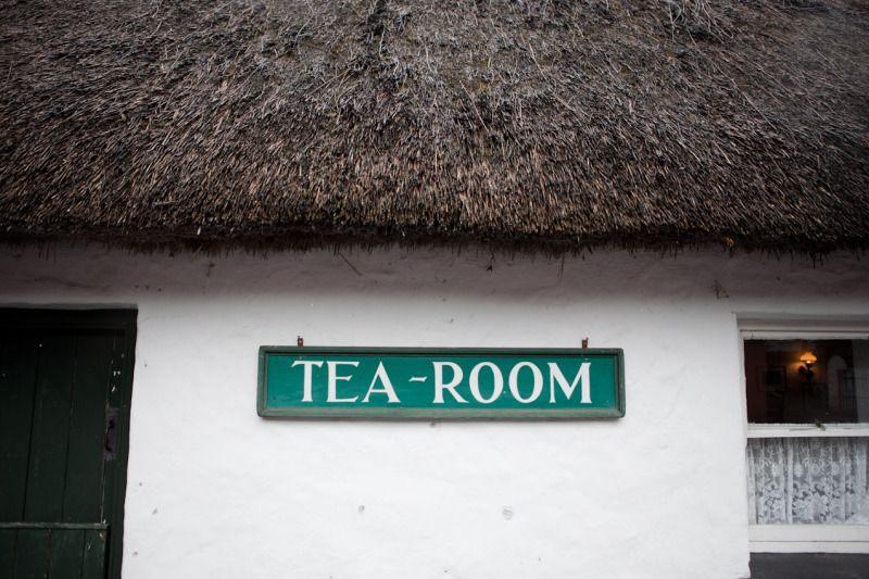 Doolin, Ireland. Tea Room