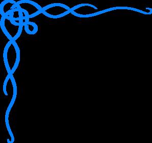 blue scroll ribbon border clip art crafts pinterest clip art rh pinterest com black scroll border clipart scroll borders clip art free