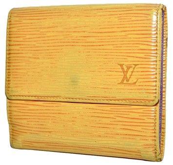 Louis Vuitton Epi Leather Porte Monnaie Cartes Bi-fold Double Snap $175