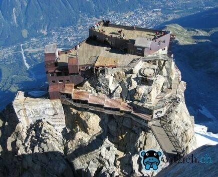 Haus auf sem Felsen