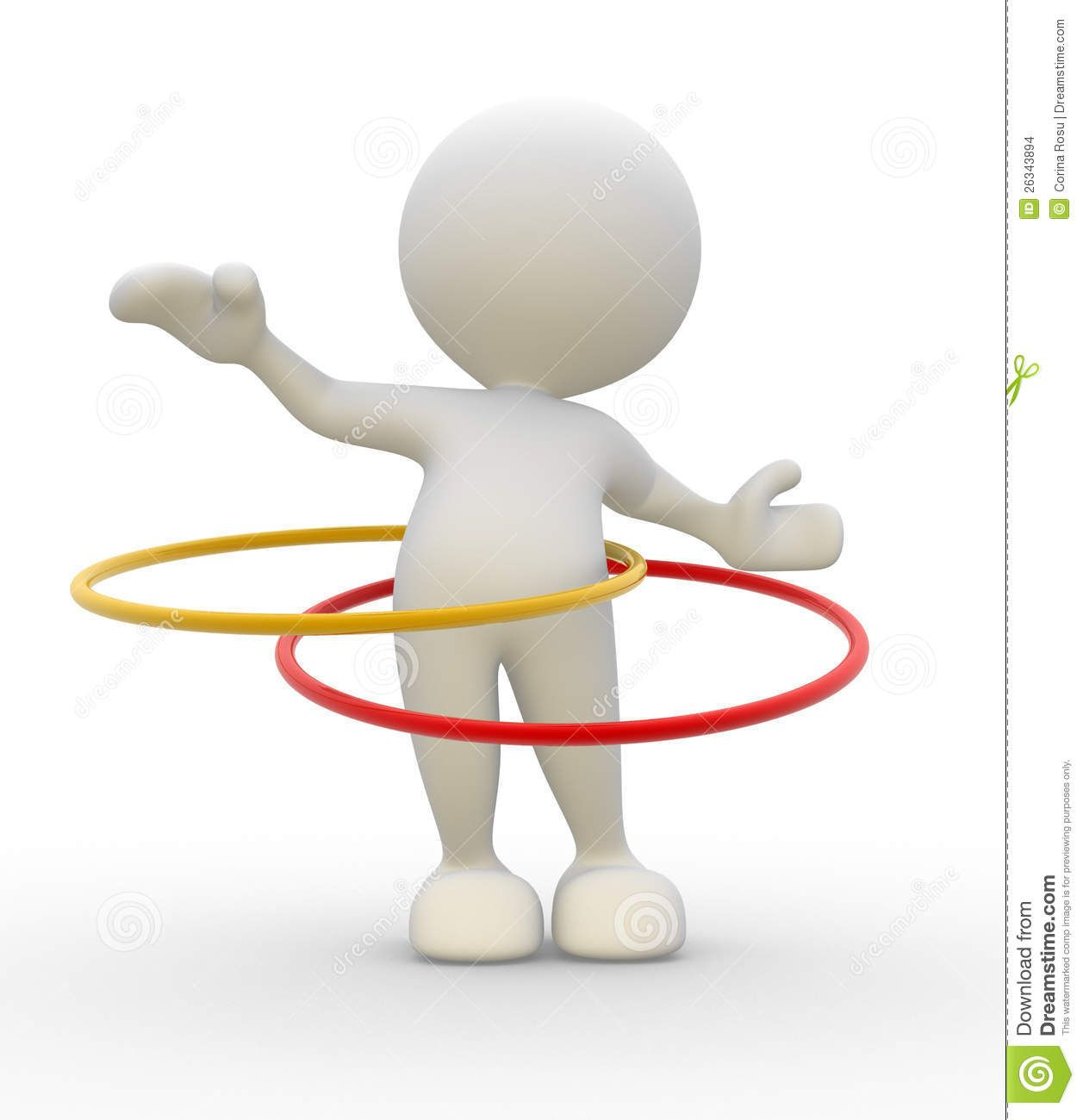 Hula Hoop Stock Images Image 26343894 Hula Hoop Hula Emoji Images