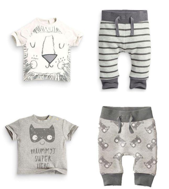 Retail 2PCS Summer baby boy clothes new born baby clothing set cotton short sleeved Cartoon Lion bat printing t-shirt + pants
