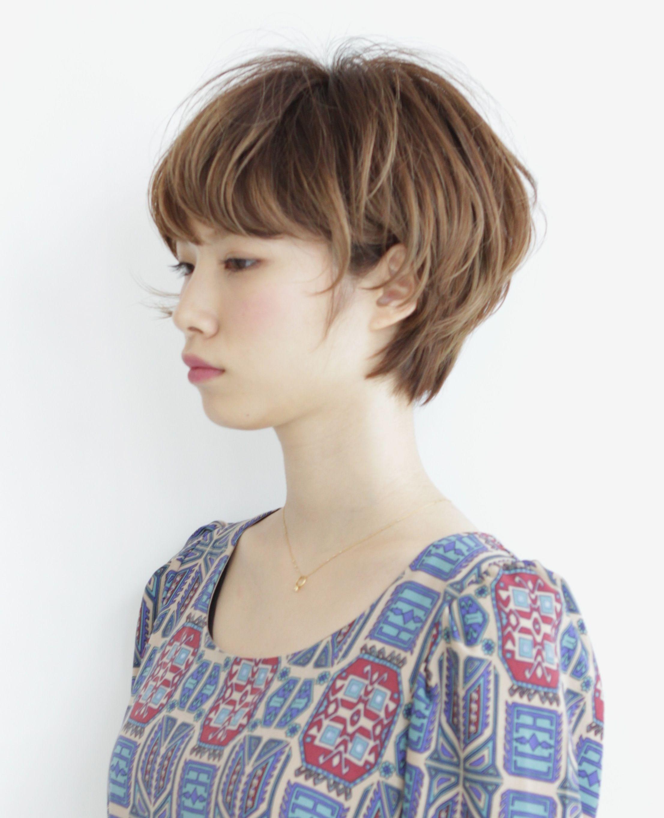 ニュアンス゠ームショートボブ ヘアスタイム゠タログ é ªåž‹ HAIRstyle