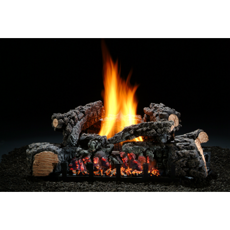 hargrove 26 inch highland glow ventless gas log set gas logs