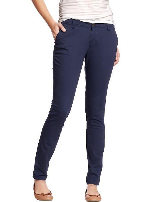 Women's The Diva Skinny Khakis work uniform! | my beauty ...